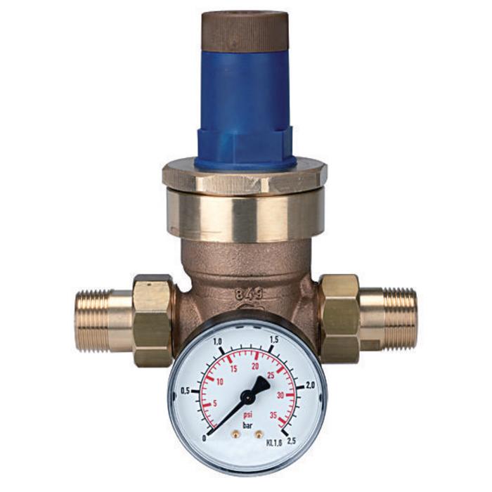 Pressure regulators and filters for water (Sanitary)