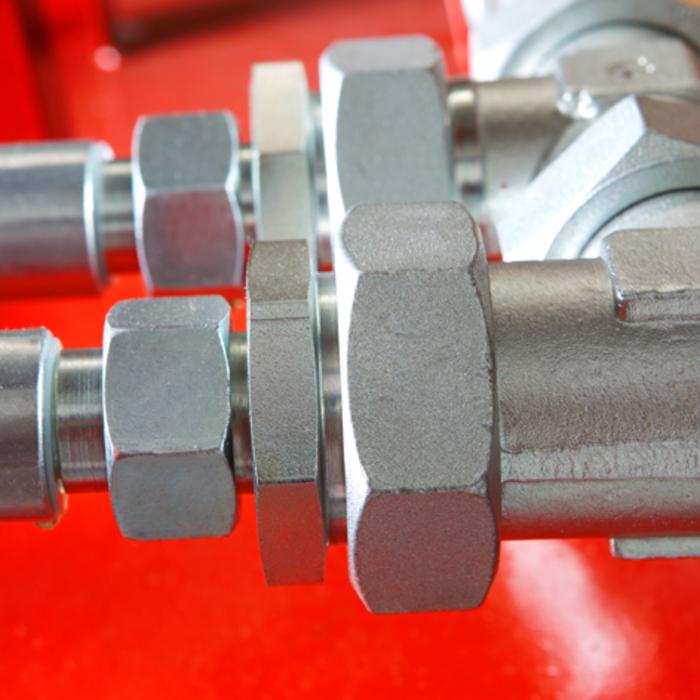 cauruļu veidgabali ISO 8434-1