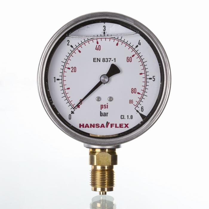 Pressure gauges for welding, Pressure gauges heavy-duty version