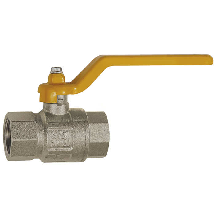 Ball valves for gas and drinking water