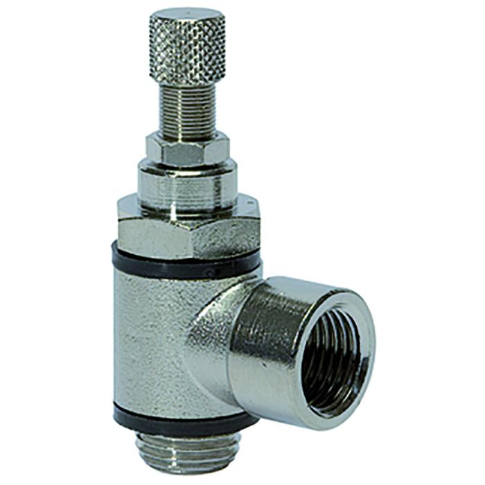 Flow control valves knurled screw C